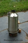 Kelly Kettle for boiling water