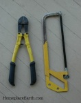 bolt cutters and hacksaw-BLOG