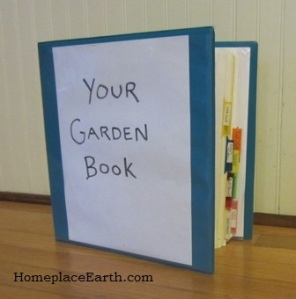 your garden book-BLOG