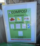 compost sign--zero waste events