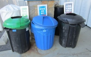 zero waste recycle containers