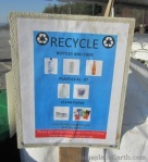 recycle sign-zero waste events