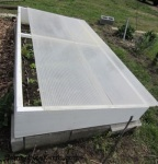coldframe vented at the top