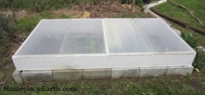 coldframe 4 lids on