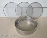 Interchangeable sieves found at an Indian grocery store. Cost less than $15-BLOG