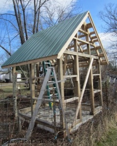 bare bones garden shed