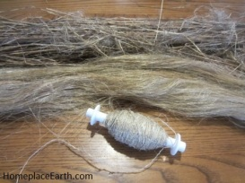 flax to linen--retted sraw-strick-spun