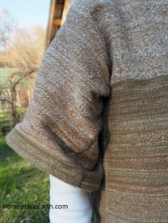 homegrwon handspun cotton shirt 2016